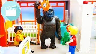 Playmobil Film deutsch | Gorilla im Kranhauszimmer von Marvin und Jonas | Playmobil Krankenhaus