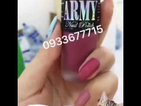 SƠN NHÁM LÌ ARMY MADE IN THAILAND !!!