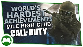 Modern Warfare Remastered - World's Hardest Achievements - Mile High Club