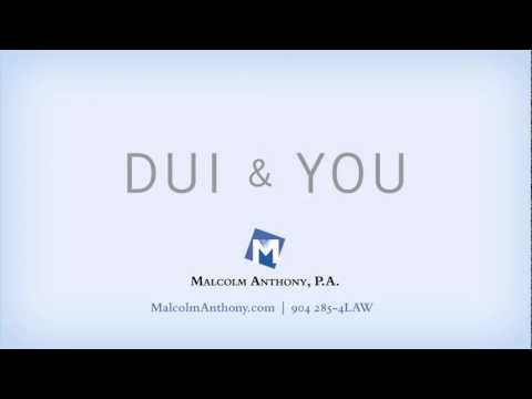Jacksonville DUI Attorney Malcolm Anthony Tip - You Have a Right to a Lawyer