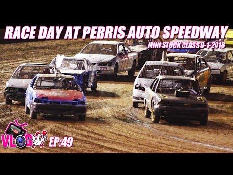 Perris Auto Speedway Demo Cross Mini Stocks