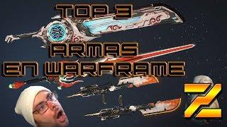 TOP 3 MEJORES ARMAS DE WARFRAME (por tipo)