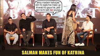 Watch Salman Khan make FUN of Gf Katrina Kaif again when she leaves Bharat event for personal issue