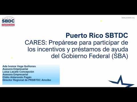 CARES: Conozca los Programas de Incentivos y Préstamos del Gobierno Federal