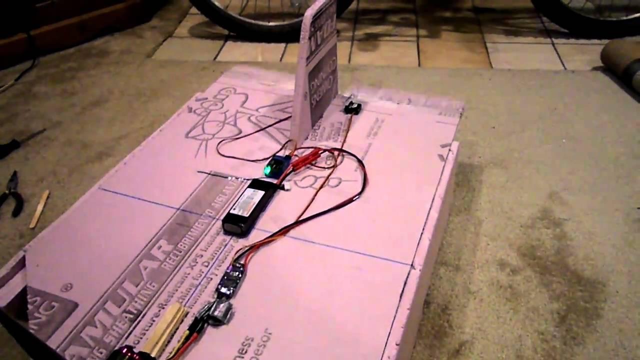 Scratch Build Pink Foam Hydro Plane Pt1 Youtube