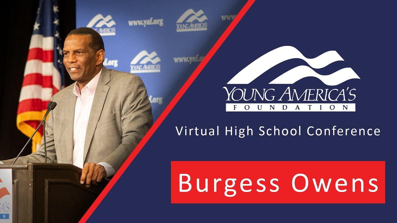 BURGESS OWENS | Slavery, Freedom, & The American Dream
