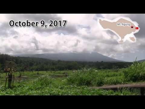 [Bali] Mt. Agung Today : October 9, 2017 / Gunung Agung hari ini