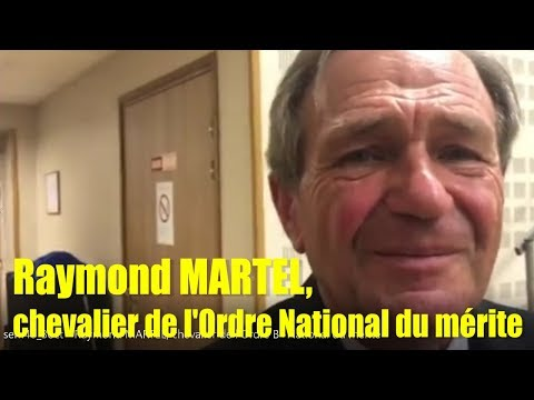 sem40 3oct   Raymond MARTEL, chevalier de l'Ordre National du mérite
