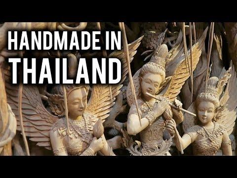 LARGEST HANDICRAFT MARKET in THAILAND