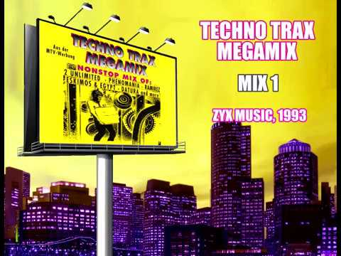 Techno Trax Megamix - Mix 1