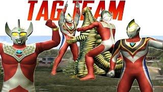 Video Ultraman Gaia Supreme & Ultraman Taro - TAG Team Mode ★Play ウルトラマン FE3 download MP3, 3GP, MP4, WEBM, AVI, FLV Maret 2018