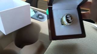 2005 White Sox World Series replica ring unboxing