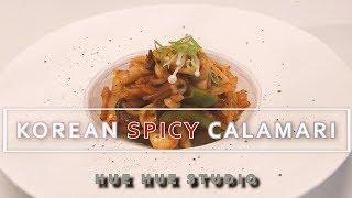 오징어 볶음 [RECIPE] Korean spicy stir fried squid