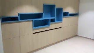 видео Мебель трансформер для спорта
