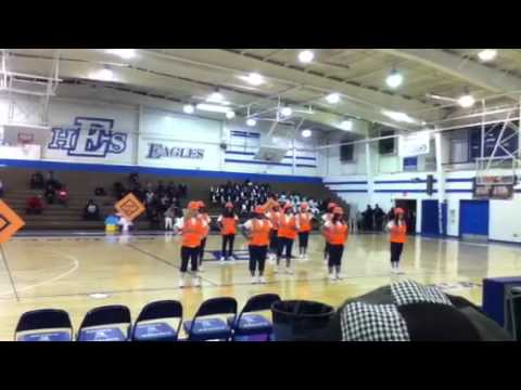 Crosby Middle School step competition at Eastern High School