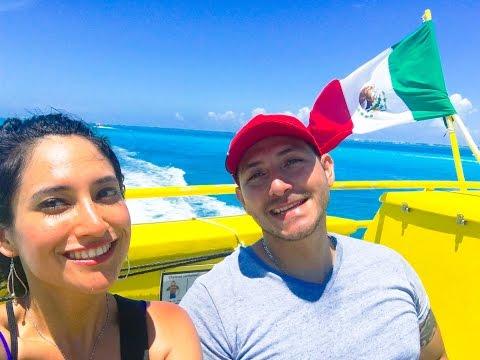 EL MAR CARIBE MEXICANO ISLA MUJERES HERMOSA EXPERIENCIA