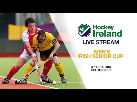 LIVE HOCKEY - 2018 Men's Irish Senior Cup final