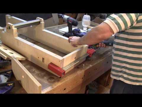 The Woodpecker EP 44 Wooden Jointer