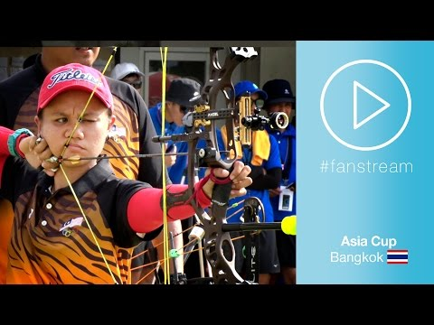 #Fanstream: Chinese Taipei v Malaysia – Compound Mixed Team Gold Final | Bangkok 2017