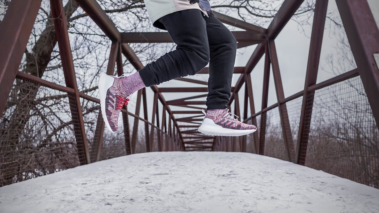 ee5af5f70df ULTIMATE ADIDAS COLLAB KITH ULTRA BOOST MID ON FEET REVIEW + KITH ASPEN  PINNACLE JACKET REVIEW