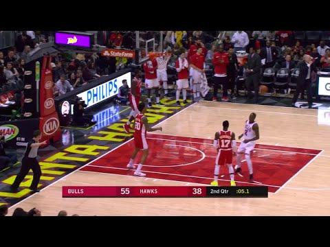 2nd Quarter, One Box Video: Atlanta Hawks vs. Chicago Bulls