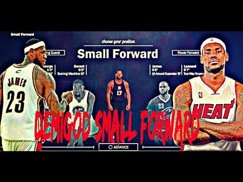 NBA 2K17 BEST SMALL FORWARD BUILD - HOW TO CREATE A DEMIGOD SMALL FORWARD IN 2K17!!