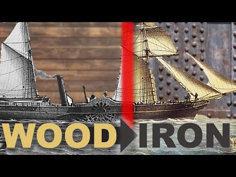 Transition from Wood to Iron in Shipbuilding