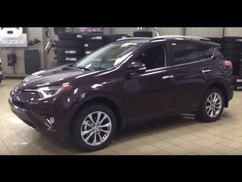 2017 Toyota Rav4 Limited Review Youtube