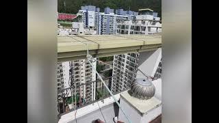(올제거 시공. 영상.)  아파트 빗물누수 베란다 창틀…