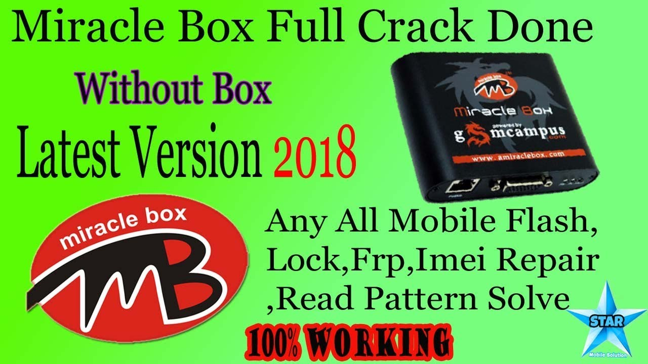 Miracle Box V2.29 Latest Version 2018 || Miracle tOOL 2.29 Without Box