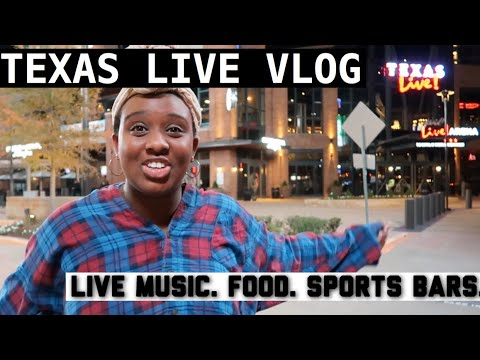 TEXAS LIVE VLOG: ARLINGTON TEXAS