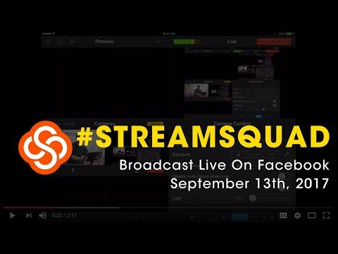 #StreamSquad | September 13th, 2017