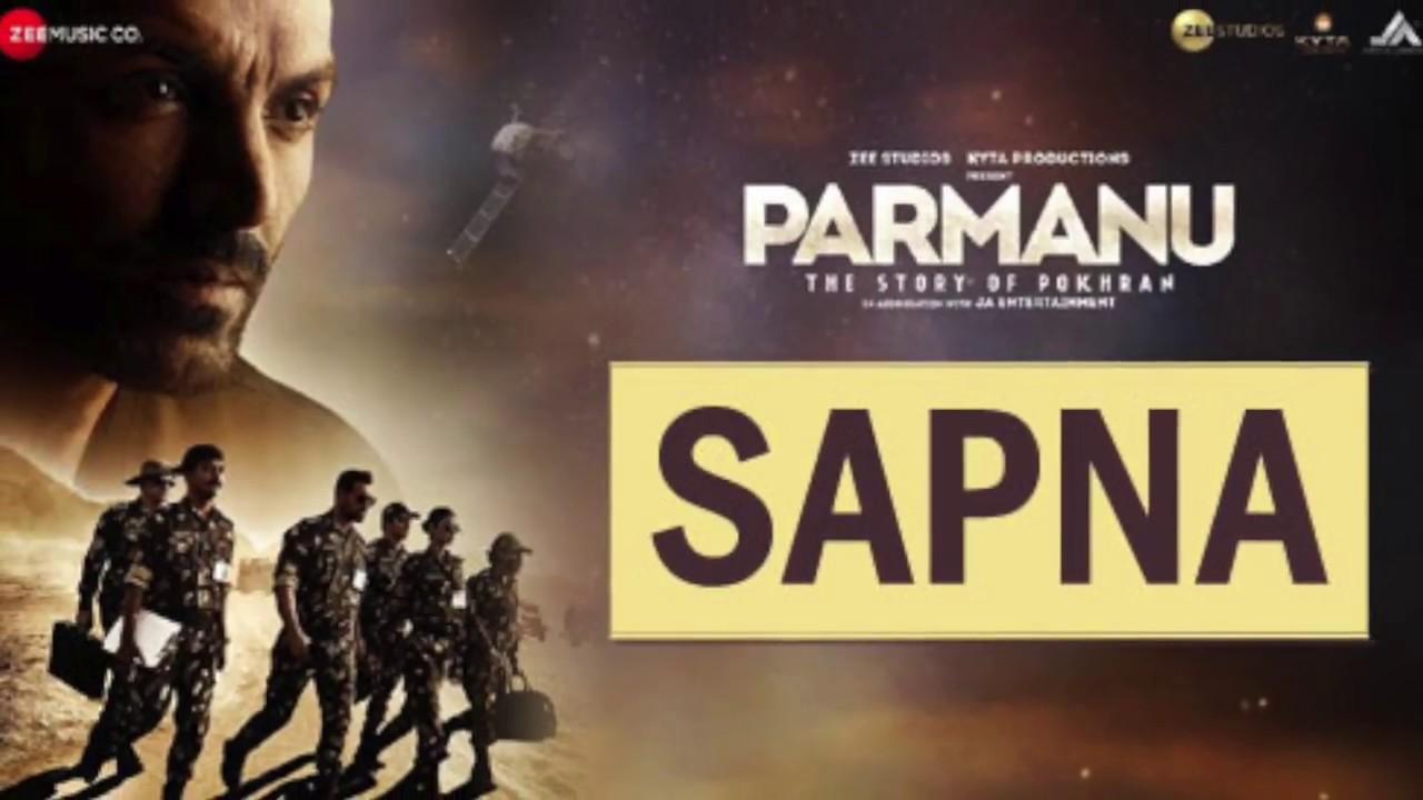 Sapna Full Audio Lyrics Arijit Singh Parmanu Sachin Jigar