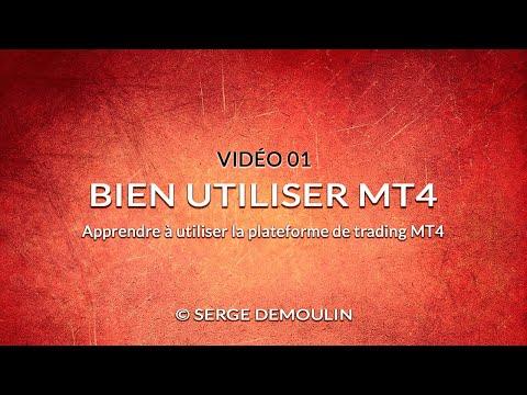 Video 01 - Apprendre à utiliser la plateforme de trading Metatrader 4