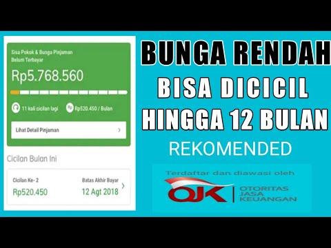 3 Aplikasi Pinjaman Online Bunga Paling Rendah Youtube