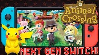 Massive News: Pokemon 8 Gen Confirmed  Next Gen Switch Patent Animal Crosssing Switch Gamplay & More