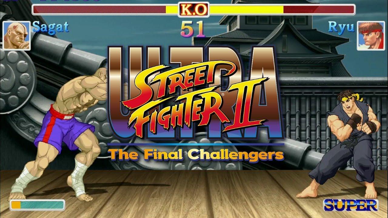 Ultra Street Fighter II - SAGAT Arcade Mode, No continue, Dificultat