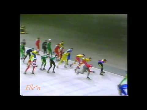 Marathon Heerenveen 15-12-1990 - Anema, Bozyev, Van Kempen, Kramer, etc.