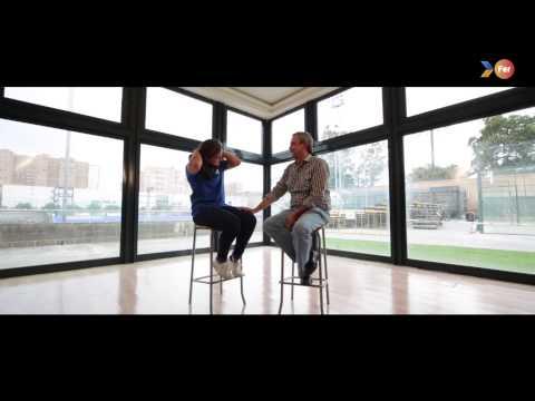 """FER 2015 """"Crec en tu"""" (Creo en ti) - Entrevista de Lola Riera y su padre"""