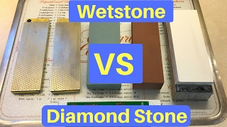 Diamond Stone VS Wetstone
