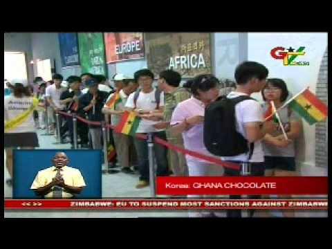 Ghana Chocolate in Sourh Korea