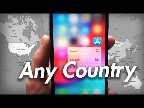 How To Change App Store Country