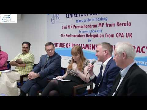 Interactive session on 'FUTURE OF PARLIAMENTARY DEMOCRACY'