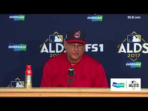 Terry Francona Postgame Interview | Indians vs Yankees Game 5 ALDS