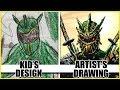 KID'S DESIGN - ARTIST'S DRAWING!