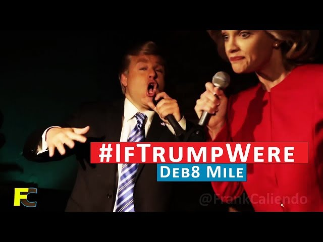 Deb8 Mile… An Epic Rap Battle between Donald Trump and Hillary Clinton