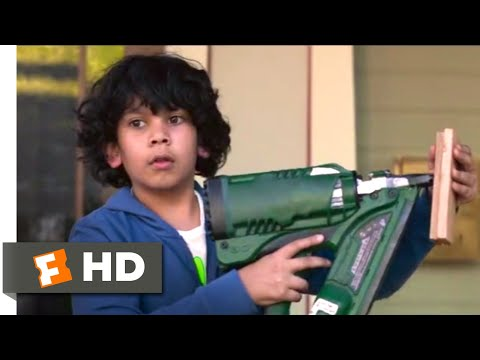 Instant Family (2018) - Nail Gun Emergency Scene (4/10) | Movieclips