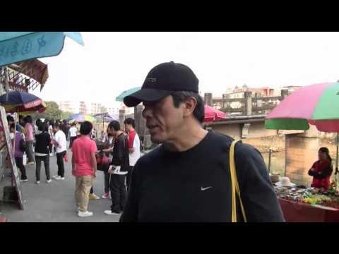 Shopping At Street Market In Kaiping, China