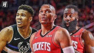 Gambar cover Milwaukee Bucks vs Houston Rockets - Full Game Highlights | October 24, 2019 | 2019-20 NBA Season
