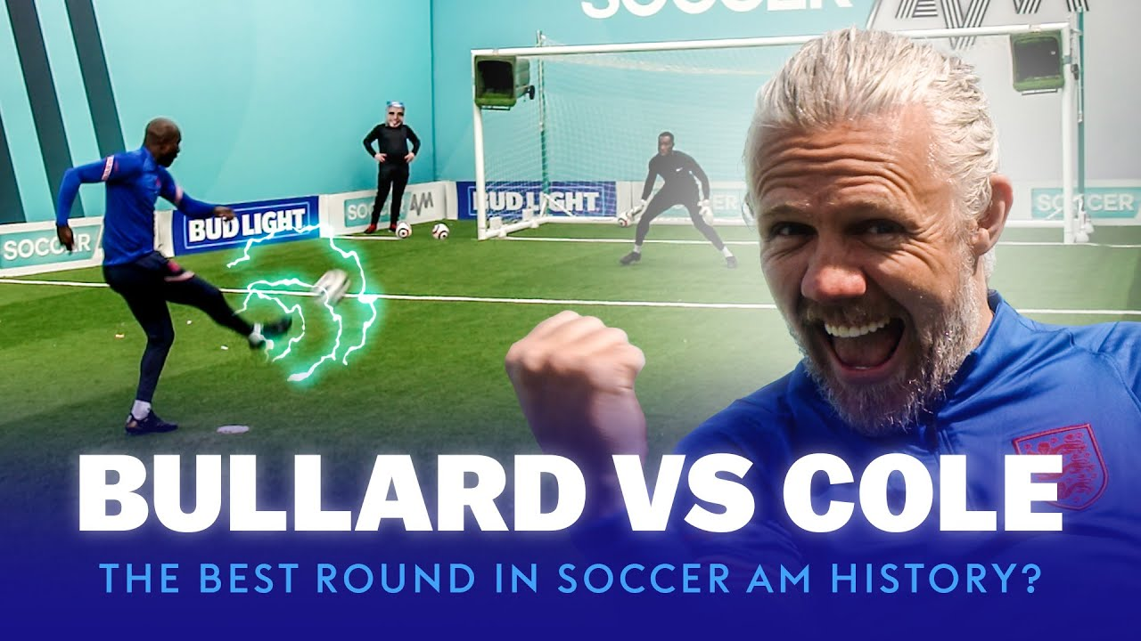 The BEST Round in Soccer AM History?! Carlton Cole vs Jimmy Bullard | Bullard's Boxheads